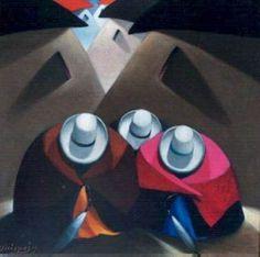 "pinturas del pintor peruano ""Quispejo"" - Buscar con Google Glow Table, Google, Paintings, America, Watercolor Painting, Cubism, Naturaleza, Paint, Painting Art"