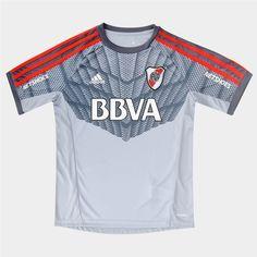 d820490272 Camiseta de Arquero adidas River Plate Oficial 2016 Infantil - Tienda River