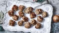 These traditional stuffing balls provide the perfect accompaniment to roast poultry – especially at Christmas.