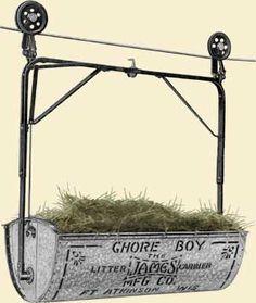 James Mfg Litter Carrier Advertisement 1920s
