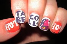 Taco Bell Nails.....why?