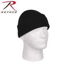 Rothco Deluxe Fine Knit Watch Cap Black