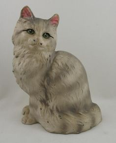 Sitting Cat Hubley Door Stop (I wonder if I will ever find mine, or one like it. ::sniffle:: -Татьяна Яаковна)