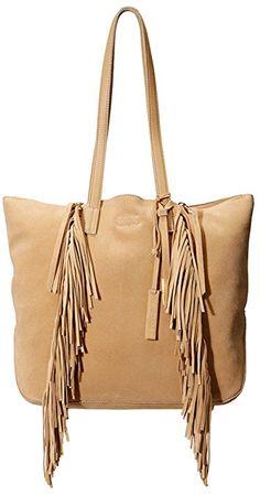 1910e9060158 Michael Kors Rhea Large Slouchy Suede Leather Shoulder Bag Review ...