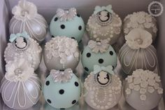 Sphere Cakes by Cotton & Crumbs