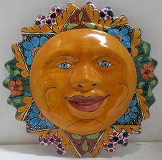 Pottery sun