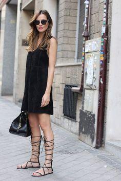 sandalias vestidos