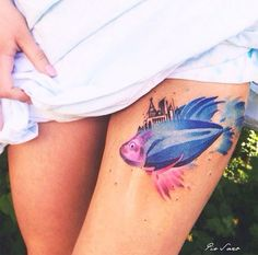 tattoo friday Pis Saro tattoo peixe