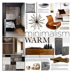 """""""Warm Minimalism Set 2"""" by szaboesz ❤ liked on Polyvore featuring interior, interiors, interior design, home, home decor, interior decorating, Arteriors, iglooplay and Menu"""
