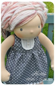 "Hettie - A 15"" Millie's Dollhouse Doll by Millie's Dollhouse - Waldorf Inspired Dolls, via Flickr"
