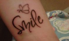 Smile tattoo images | ... smile tattoos quotes about life tattoos tattoo designs tattoo pictures
