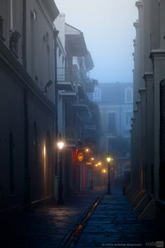 Pirate's Alley in the French Quarter of New Orleans. would love to visit here someday