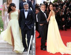 Everyone's favorite human rights lawyer, Amal Clooney, arrived at Cannes Film Festival today and looked positively stunning on the red carpet.
