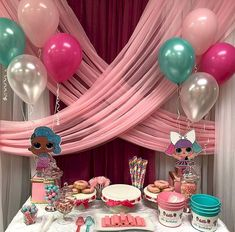 Gorgeous Balloons Decoration Ideas For Birthday Partyhttps://jihanshanum.com/balloons-decoration-ideas-for-birthday-party/  #balloon #birthday #birthdayparty #decoration #party 5th Birthday Party Ideas, Baby Birthday, Bday Girl, Surprise Birthday, Balloon Birthday, Balloon Decorations, Birthday Party Table Decorations, Decoration Party, Doll Party