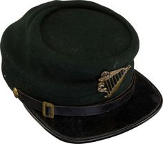 Military & Patriotic:Civil War, Civil War Period Irish-Related Kepi. Fine quality ...