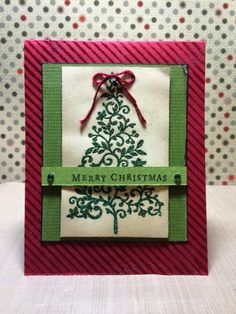 {{my own little corner of the web}}: Sparkle Tree Card and Video!