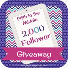 Fifth in the Middle's 2,000 Follower Giveaway!