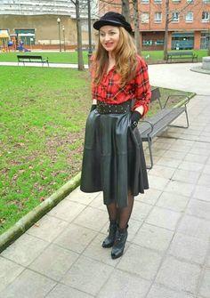 Un vestido para mí: tartan- rock