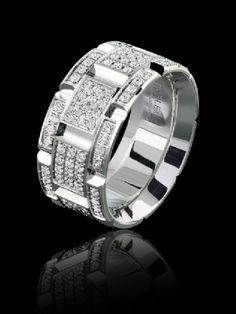 Carlex diamond luxury white gold ring for Ladies. WB-9228-S6. www.Gembycarati.com www.facebook.com/gembycarati