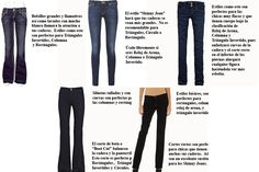 Los expertos recomiendan: Jeans para todo tipo de cuerpo | CoolTown Fashion