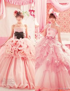 Love Mary Wedding Dresses by Mariko Shinoda, super cute!!