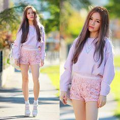 Chloe T - Choies Lilac Jumper - Kitty
