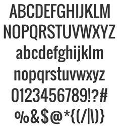 Here's a nice, sturdy san serif font for you: Oswald. It's a bit condensed and very clean. This typeface comes in a family of four weights. Download them all for free.