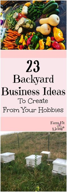 backyard business ideas | Ideas for new businesses | Hobbies and Interests | Homesteading | Making Money from the homestead