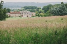 Wake up to these views of Newburgh Priory. www.yurtshire.co.uk #ukholidays #glamping