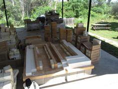 Mud Slinging  |  Building a wood fired kiln.