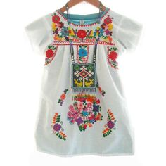 mexican embroidery | Mexican dress for baby children - Aida Coronado store | ThisNext