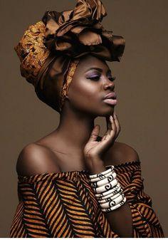 Beautiful Fanmdjanm wrap ~African fashion, Ankara, kitenge, Kente, African prints, Senegal fashion, Kenya fashion, Nigerian fashion, Ghanaian fashion ~DKK