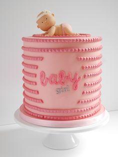 Harrys Cakes - Bling Baby Shower Cake