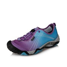 Clorts Womens Outdoor Seaside Amphibious Athletic Pull On Water Shoe Hiking Water Sneaker Purple 3H020C US9 ** To view further for this item, visit the image link.