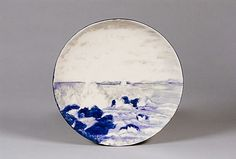 Plate, 1910.  Manufactured by Willets Manufacturing Company  (1879–1908)