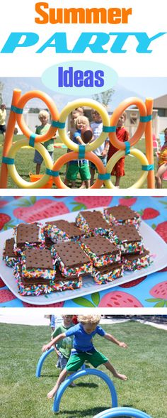 Summer party games and treats Luau Party, Diy Party, Party Gifts, Party Ideas, Slumber Party Games, Slumber Parties, Beach Party Games, Sleepover, Summer Fun