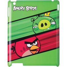 GEAR4 Angry Birds iPad 2 King Pig vs. Red Bird Case