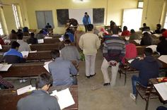 After 4 months of unrest in Valley the annual board examinations commence in South Kashmir Anantnag.Excelsior\Sajad Dar