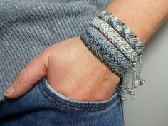 macramè friendship bracelets