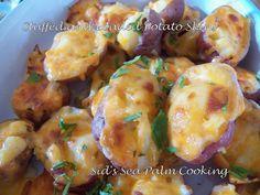 Sid's Sea Palm Cooking: Stuffed and Loaded Potato Skins