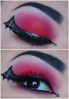 Devil's Wings [Halloween'12] http://www.makeupbee.com/look.php?look_id=63740
