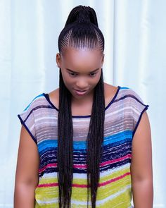 ni salon pekee hapa mjini unayo weza kupata uduma nzuri za solon na tunazingatia usafi wa hali ya juu kama unavyo ona kwenye… Braided Cornrow Hairstyles, Feed In Braids Hairstyles, African American Braided Hairstyles, Protective Hairstyles For Natural Hair, Natural Hair Braids, Braids With Curls, Braided Hairstyles For Black Women, Cool Braids, Braids For Black Hair