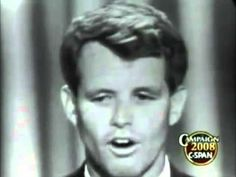Bobby Kennedy at the 1964 Democratic Convension Democratic National Convention, Atlantic City, Attorney General, Democratic Party, Jfk, Bobby, In This Moment, Youtube, Change