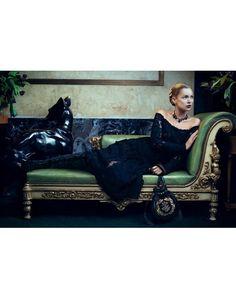 Kate Moss fotografada por Mikael Jansson para Salvatore Ferragamo