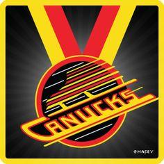 Vancouver Canucks retro logo #vancouvercanucks