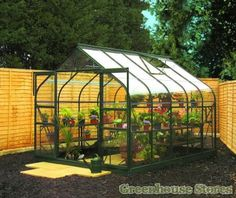Halls Supreme Green 8x10 Greenhouse http://www.greenhousestores.co.uk/Halls-Supreme-Green-8x10-Greenhouse-3mm-Toughened-Glazing.htm