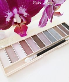 Lovely make up eyeshadow palette TEST ON THE BLOG