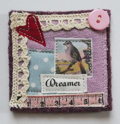 Fabric Brooch | Flickr - Photo Sharing!