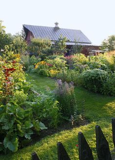 fruits, vegetables, herbs, and flowers all come together in lush beds that taste as good as they look