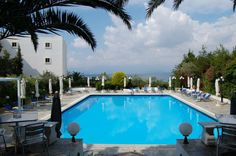 4-star #Hotel for #sale in #Evia, 5 #buildings -  magnificent view to the Gulf of Evia. It belongs to the A' category (four-star hotel). It has 95 rooms in the central building and 21 rooms in the bungalows section.